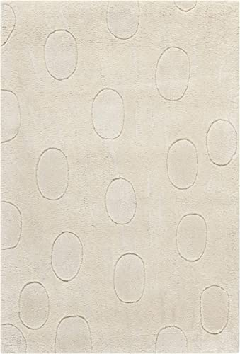 Safavieh Soho Collection SOH323A Handmade White Premium Wool Area Rug 2 x 3