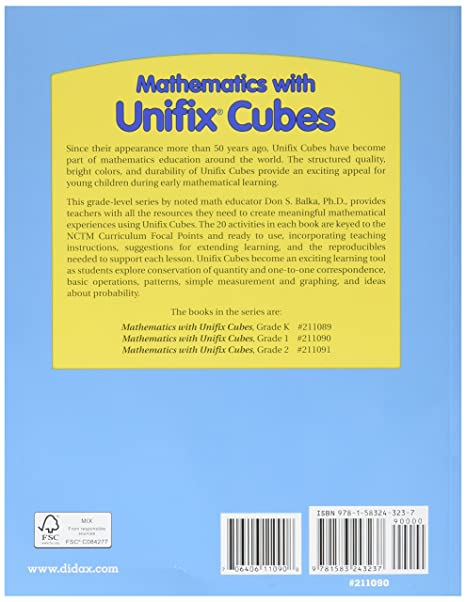 Amazon.com: Didax Educational Resources Mathematics with Unifix ...
