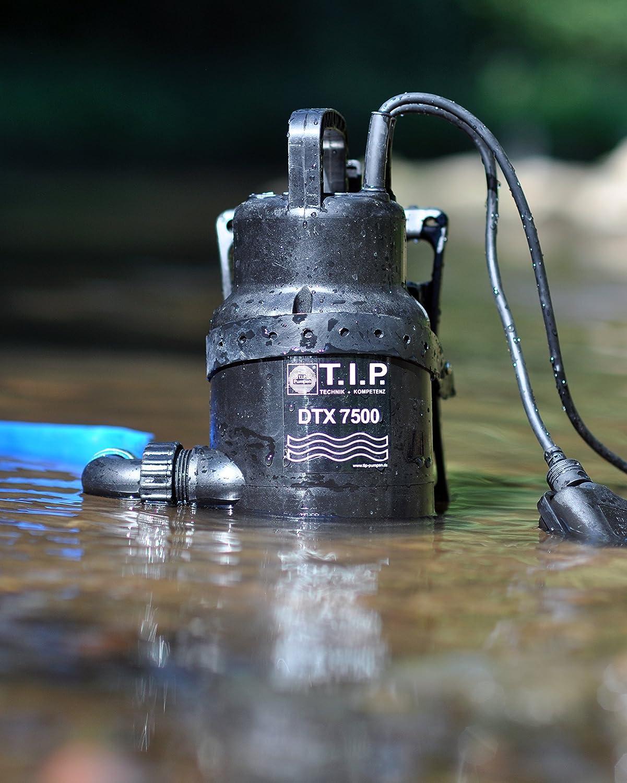 30258 Pompe de circulation pour eaux us/ées DTX 7500 T avec syst/ème de support T.I.P