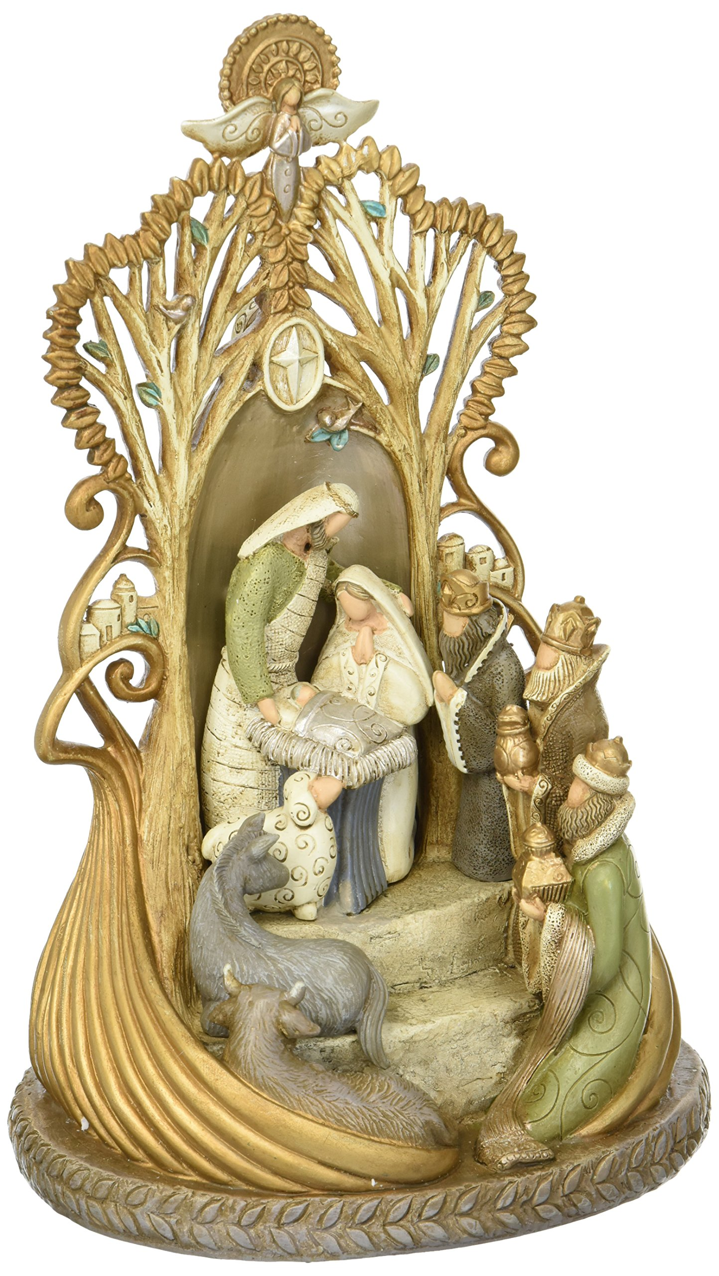 Enesco Legacy of Love From Masterpiece Nativity Figurine 11.42 In by Enesco (Image #1)