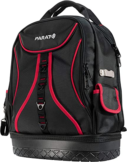 Parat Basic Back Pack 5990830991 Tool Bag For Approx 50 Tools With Tablet Compartment Reinforced Base Black Amazon De Baumarkt