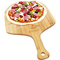 Pizza Royale Ethically Sourced Premium Natural Bamboo Pizza Peel (Extra Large)