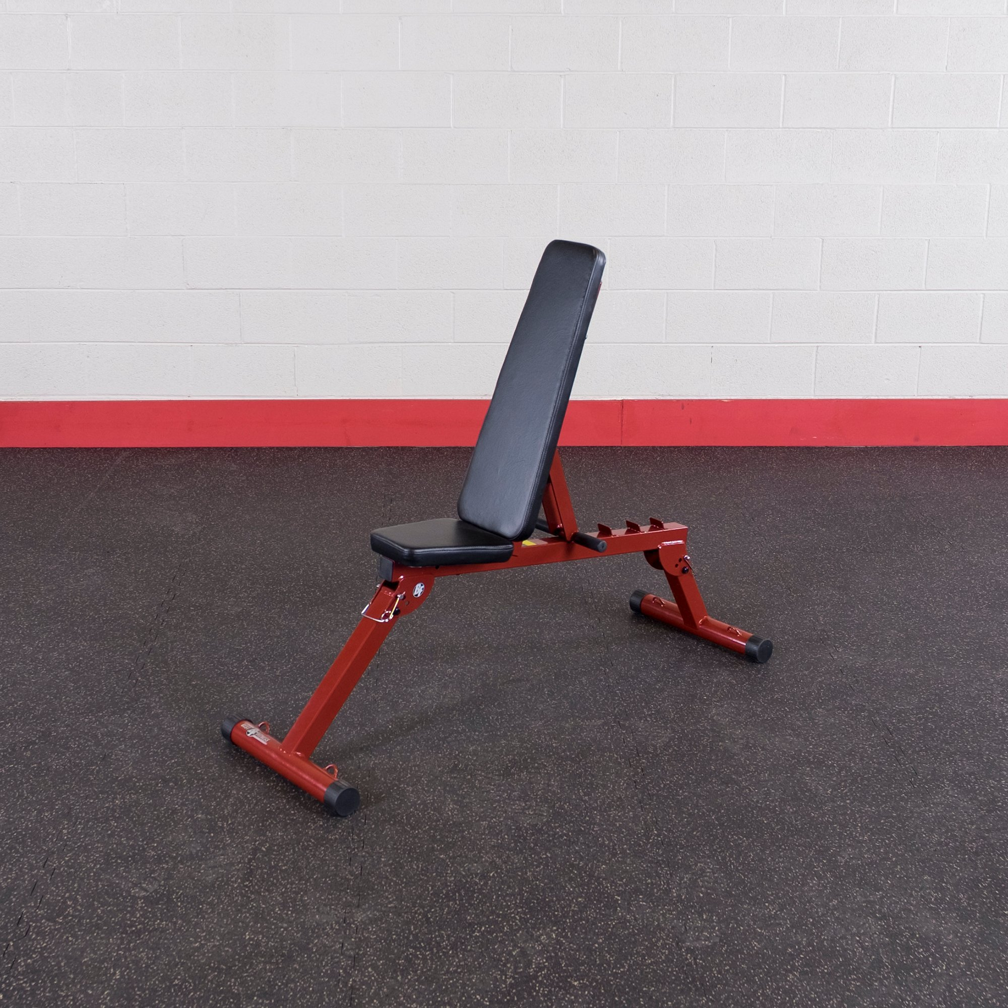 Best Fitness Power Rack Package Red Frame/ black Upholstery by Best Fitness (Image #5)