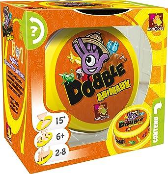 Asmodee doan01fr Dobble Animales: Amazon.es: Juguetes y juegos