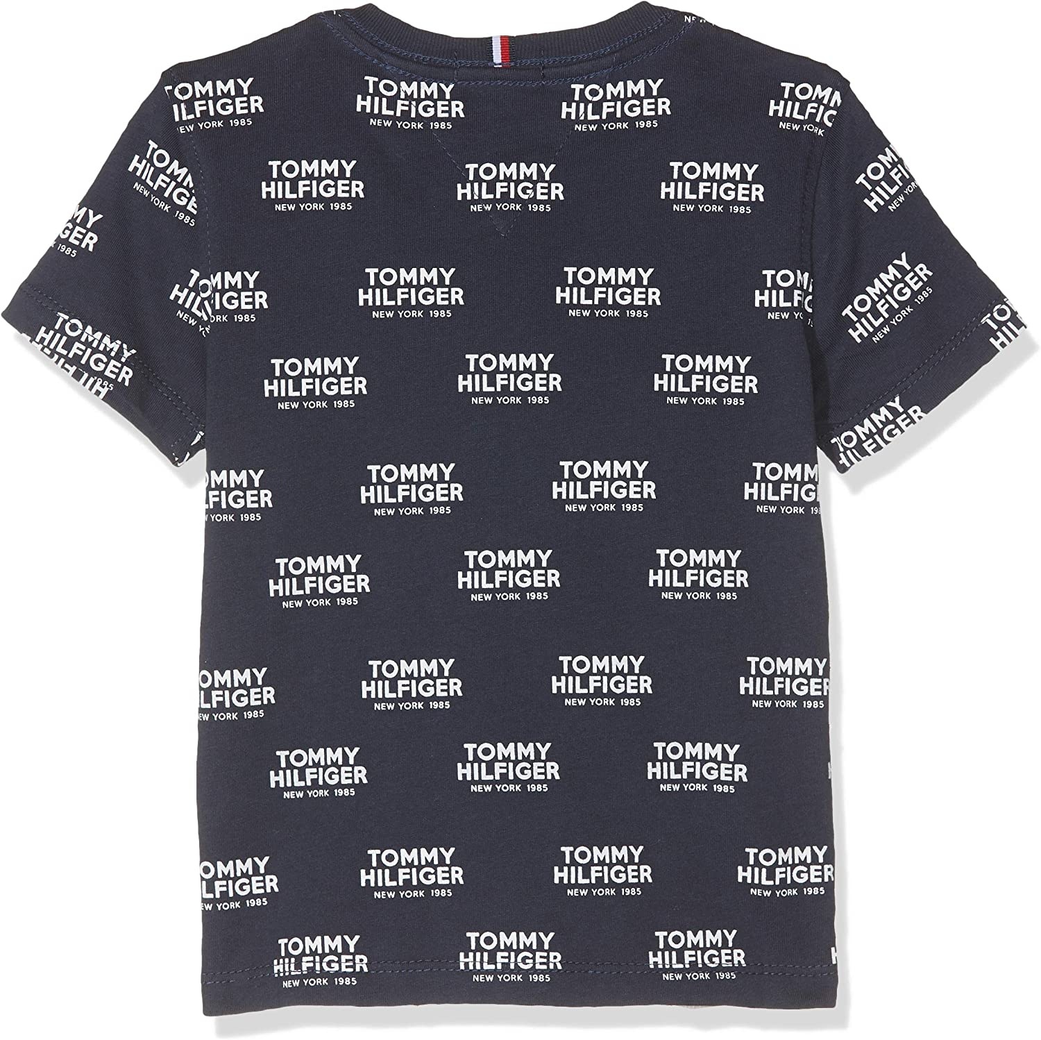 Tommy Hilfiger Baby Boys All Over Print Logo Tee S//S T-Shirt