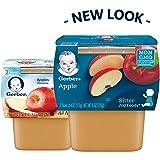 Gerber 2nd Foods Apples, 4 oz Tubs, 2 Count