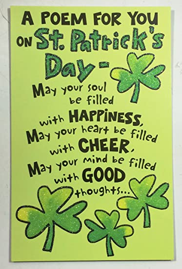 Saint Patrick Day Poems 3