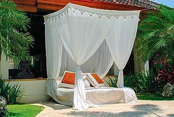 Mokito Klassischer Betthimmel Moskitonetz Big Sky 160. Baldachin Und  Mückenschutz Für Doppelbetten. Perfekter Mücken