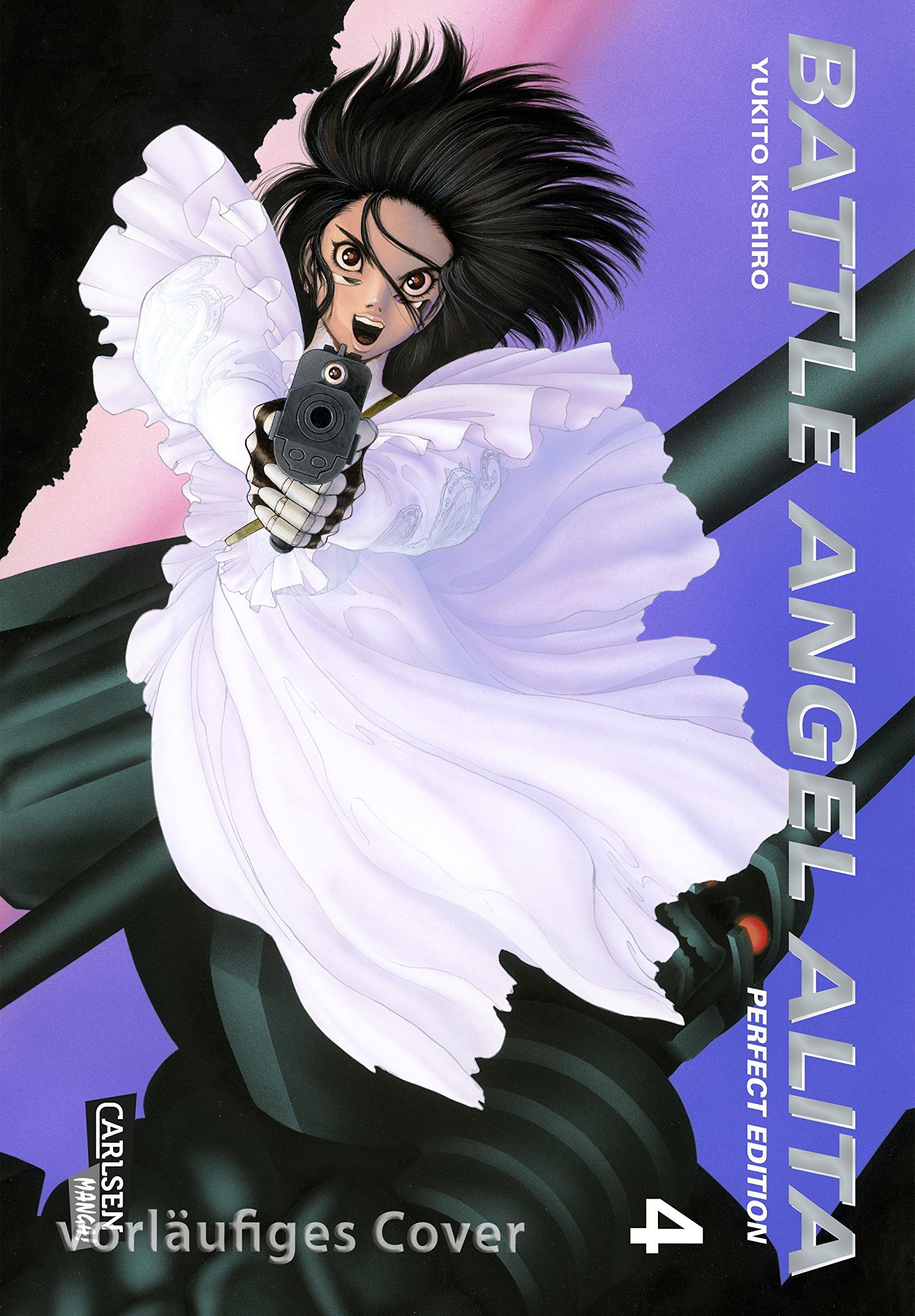 Battle Angel Alita - Perfect Edition 4 Taschenbuch – 31. Juli 2018 Yukito Kishiro Carlsen 3551721386 Manga / Für Männer - Seinen