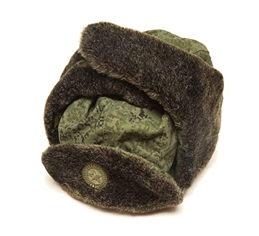 0af19893df854 Russian military army tactical modern winter ushanka hat camouflage at  Amazon Men s Clothing store