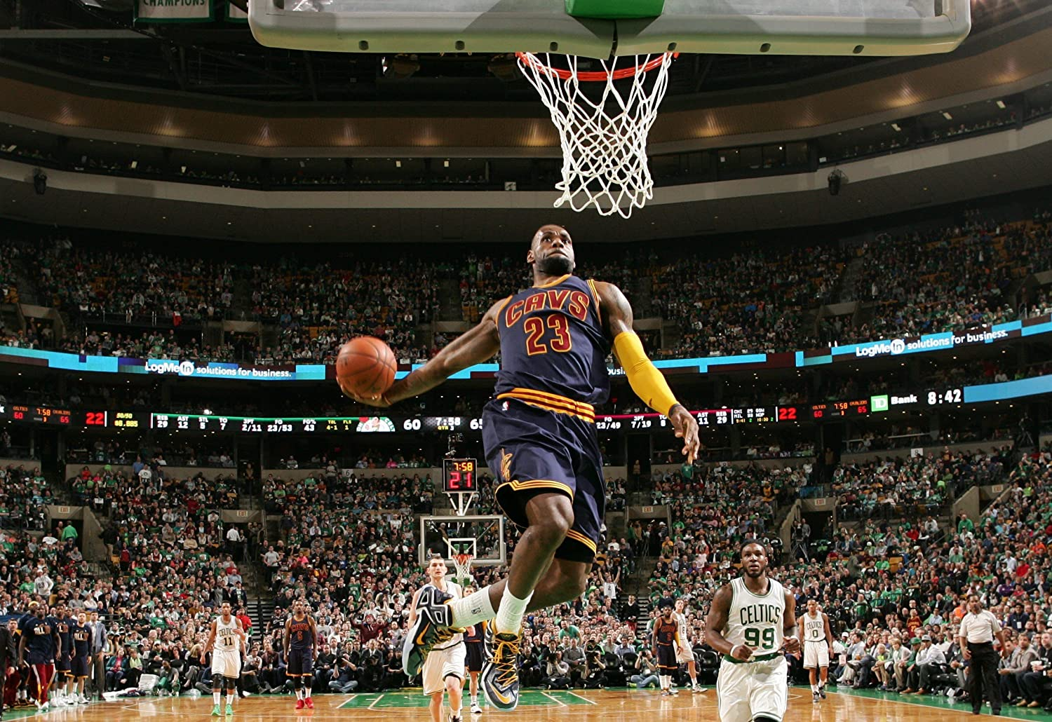 Photo posters Lebron James Cleveland Cavaliers Basketball Limited Print 8x10#2