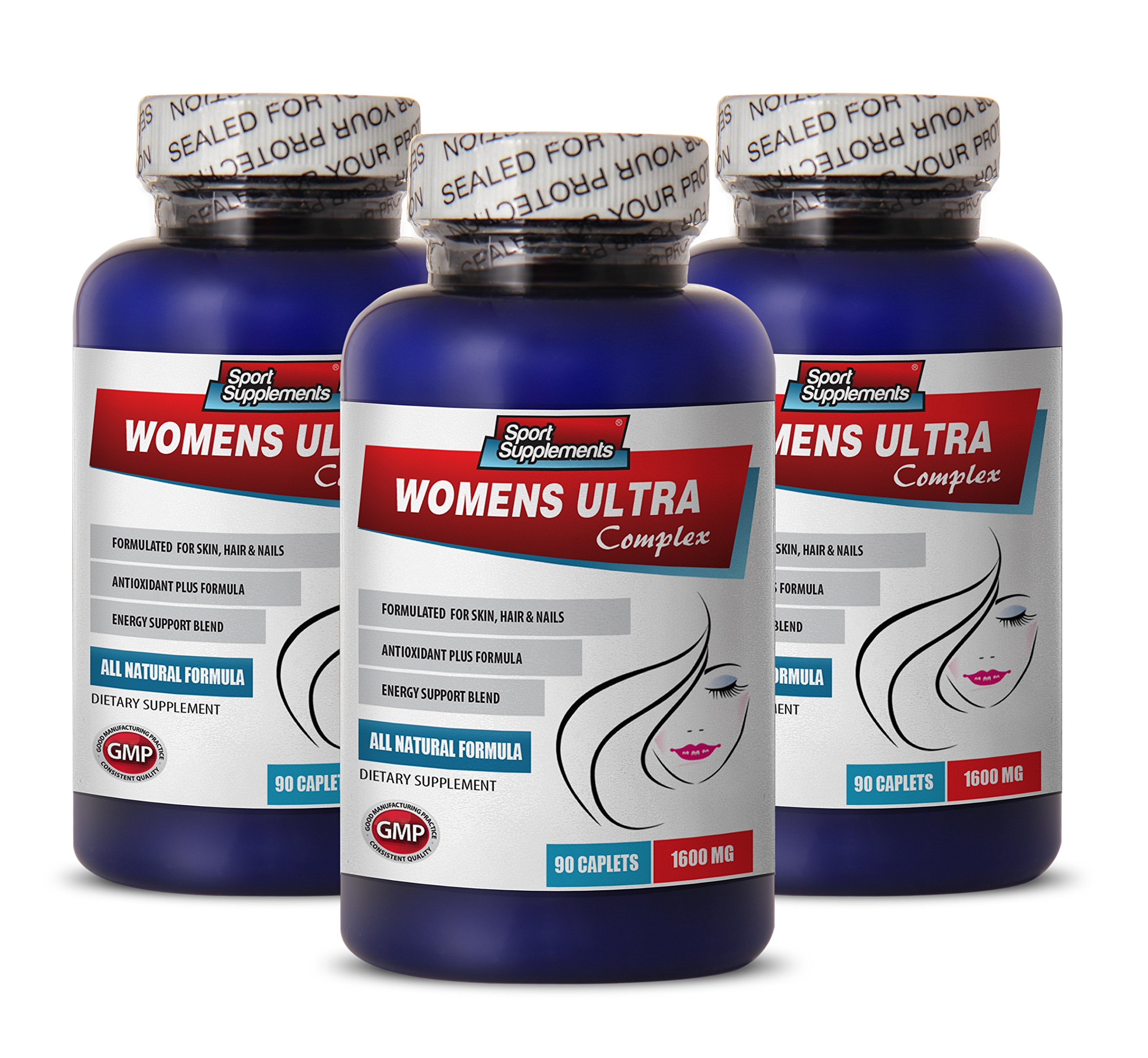women menopause supplements - WOMENS ULTRA COMPLEX - multivitamin for women natural - 3 Bottles (270 Caplets)