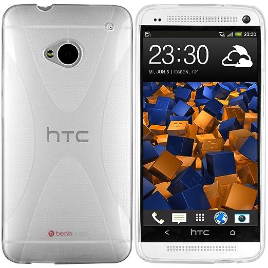 34 opinioni per Mumbi X-TPU- Custodia trasparente per HTC One (NON HTC One X X+ S SV V ecc.),
