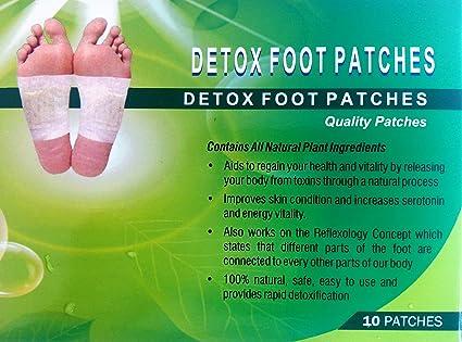 vestige foot patch ingredients