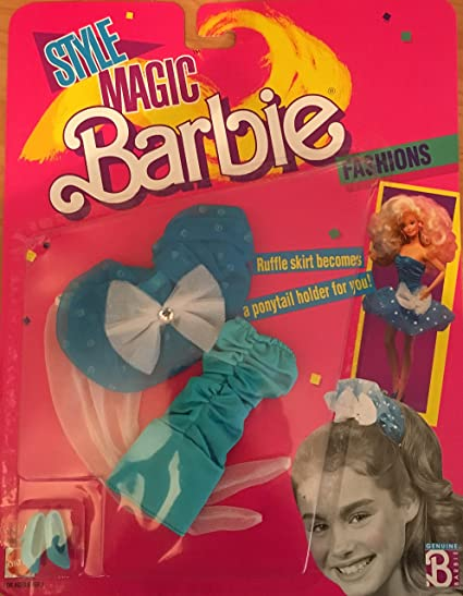 "Barbie Collectible Fashion Card  /"" Style Magic Barbie Fashions /""  1989"