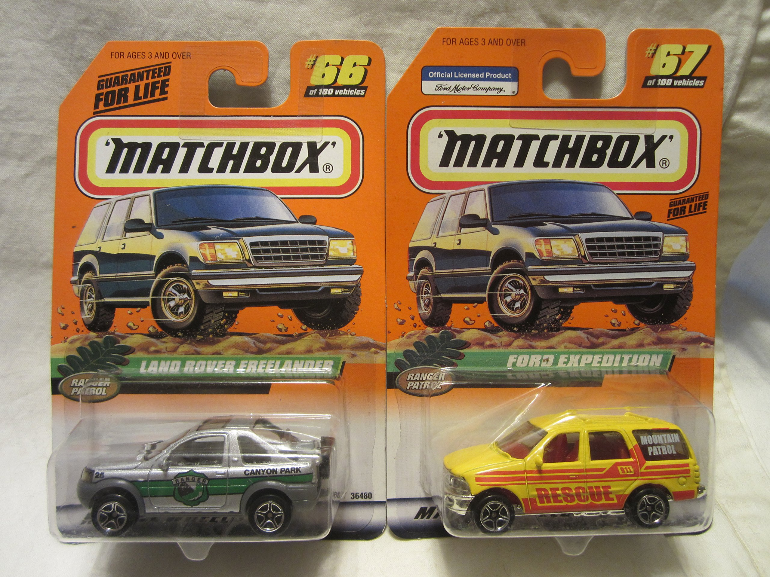Matchbox Ford Expedition Mountain Rescue #67