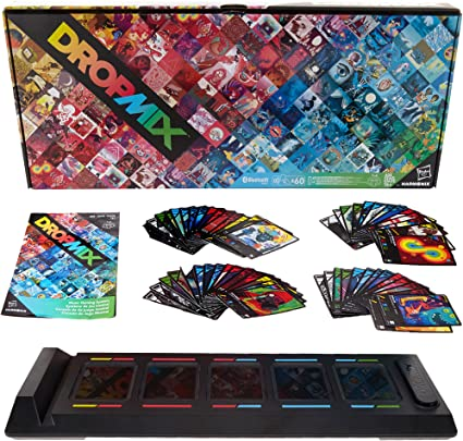 Hasbro Dropmix Gaming System //Board~Music Mixer~Great for Parties~With 60 Cards!