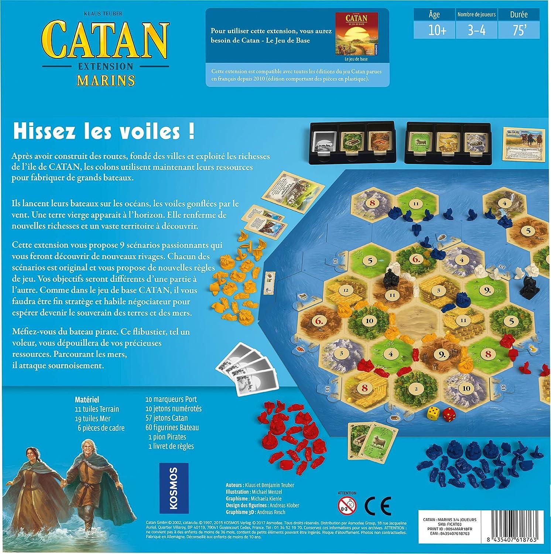 Asmodee – Catan – Extensión Marina, FICAT03: Amazon.es: Juguetes y juegos