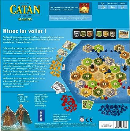 Asmodee – Catan – Extensión Marinos, ficat03: Amazon.es: Juguetes y juegos
