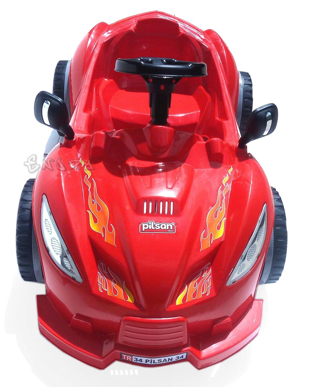 MACCHINA A PEDALI per bambini auto rossa cavalcabile go kart a pedali art.498 Bébé, puériculture