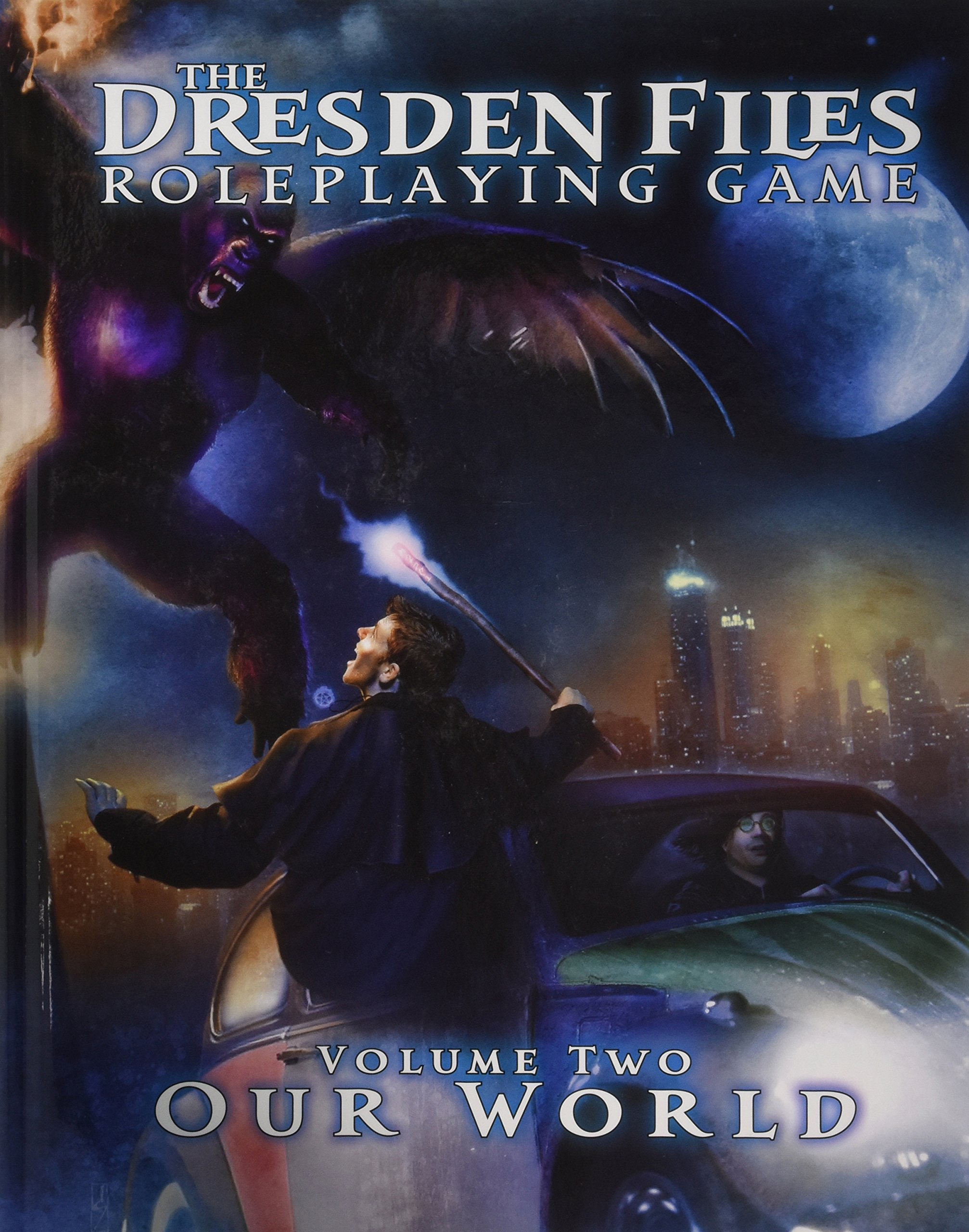 Dresden Files RPG  Core Rulebook Volume 2   Our World