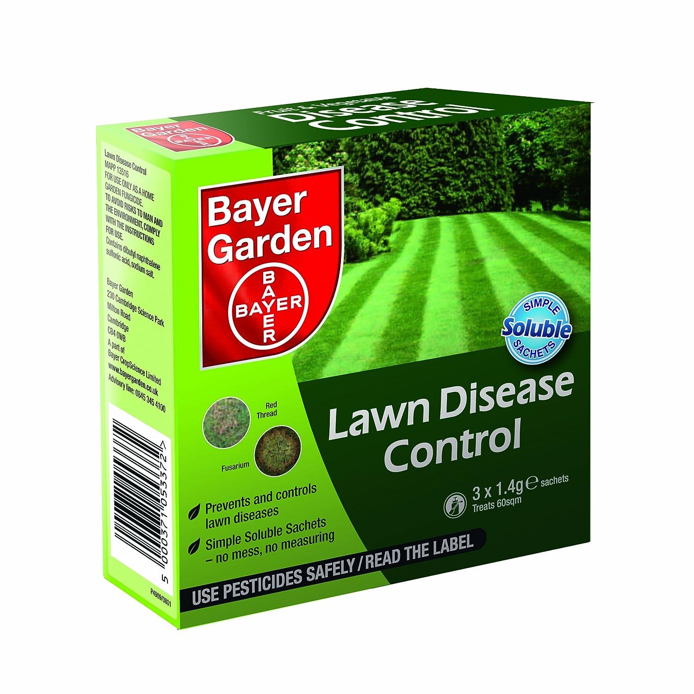 Bayer Garden Lawn Disease Control Sachets, 3 X 1.4 G: Amazon.co.uk: Garden  U0026 Outdoors
