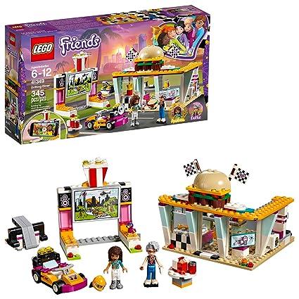Amazoncom Lego Friends Drifting Diner 41349 Race Car And Go Kart