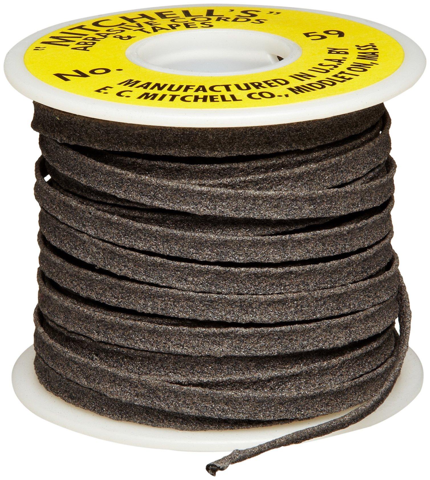 Mitchell Abrasives 59 Flat Abrasive Tape, Aluminum Oxide 150 Grit 1/4'' Wide x 50 Feet