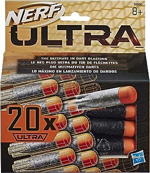 Oferta amazon: Nerf Pack de 20 dardos para lanzadores Ultra (Hasbro E6600EU6)
