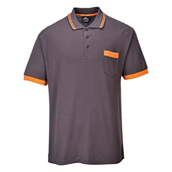 Portwest TX20 - Camisa polo, color Gris, talla 4XL: Amazon.es ...