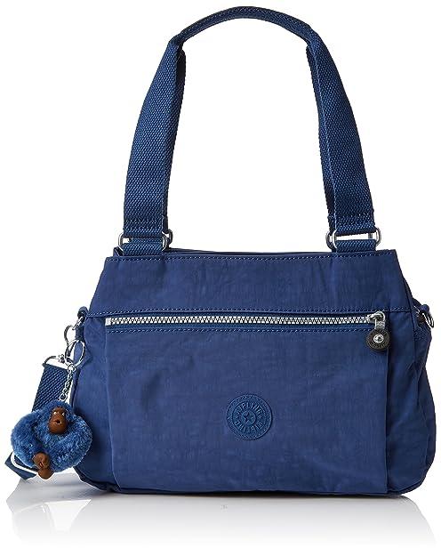 Kipling Orelie, Bolso Mochila para Mujer, Azul (Jazzy Blue), 12x31x20.