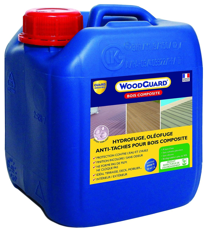 guard industrie woodguard bois composite bidon de hydrofuge 2 l amazonfr bricolage