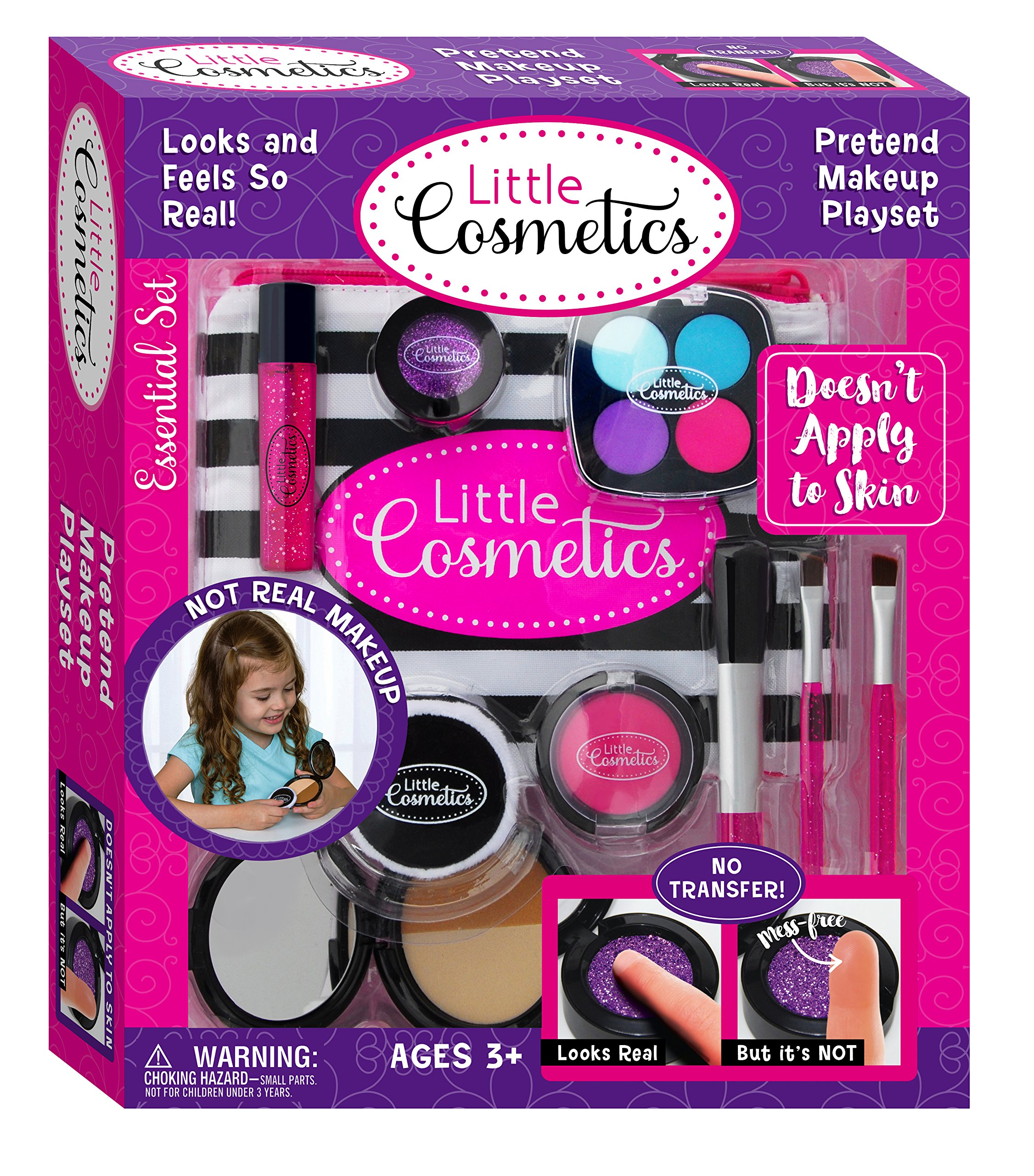Little Cosmetics Pretend Makeup Essential Set by Little Cosmetics