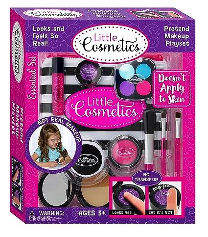 Amazon Com Little Cosmetics Pretend Makeup Essential Set Toys Games