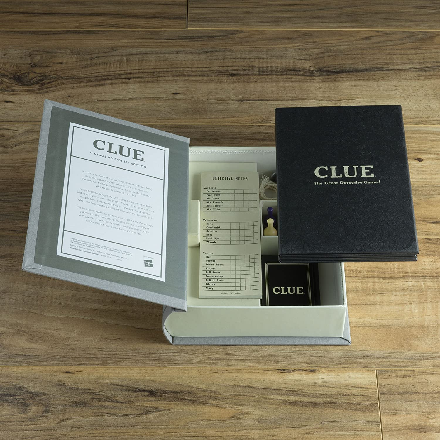 Amazon Clue Linen Book Vintage Edition Board Game Toys Games