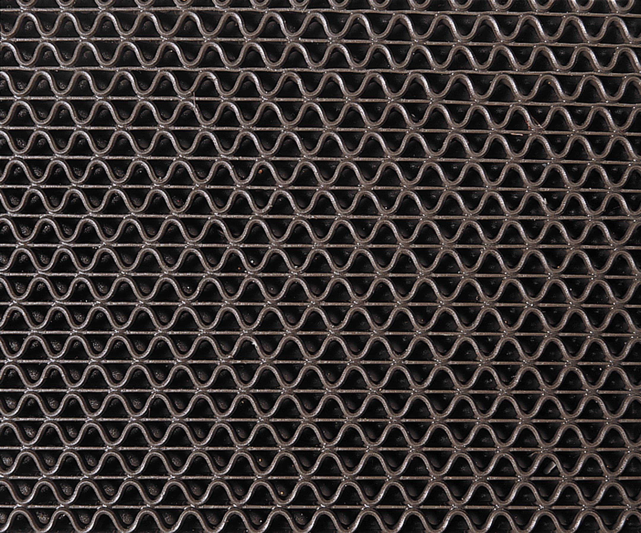3M Nomad Z-Web Medium Traffic Scraper Matting 6250, Brown, 4' x 6' by 3M