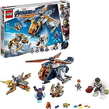 LEGO Super Heroes - Vengadores Rescate en Helicóptero de Hulk, Set ...