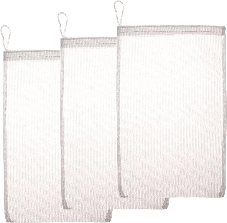 Aquatic Experts Fine Mesh Filter Media Drawstring Bags - 100% Nylon Pouches are Ideal Bulk Aquarium Filtration - Custom Chemical Media Filter Bag Designed
