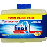 Finish Dishwasher Cleaner Lemon Bonus Twin Pack, 500ml