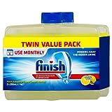 Finish Dishwasher Cleaner, Lemon Sparkle, Twin Pack 2x250ml