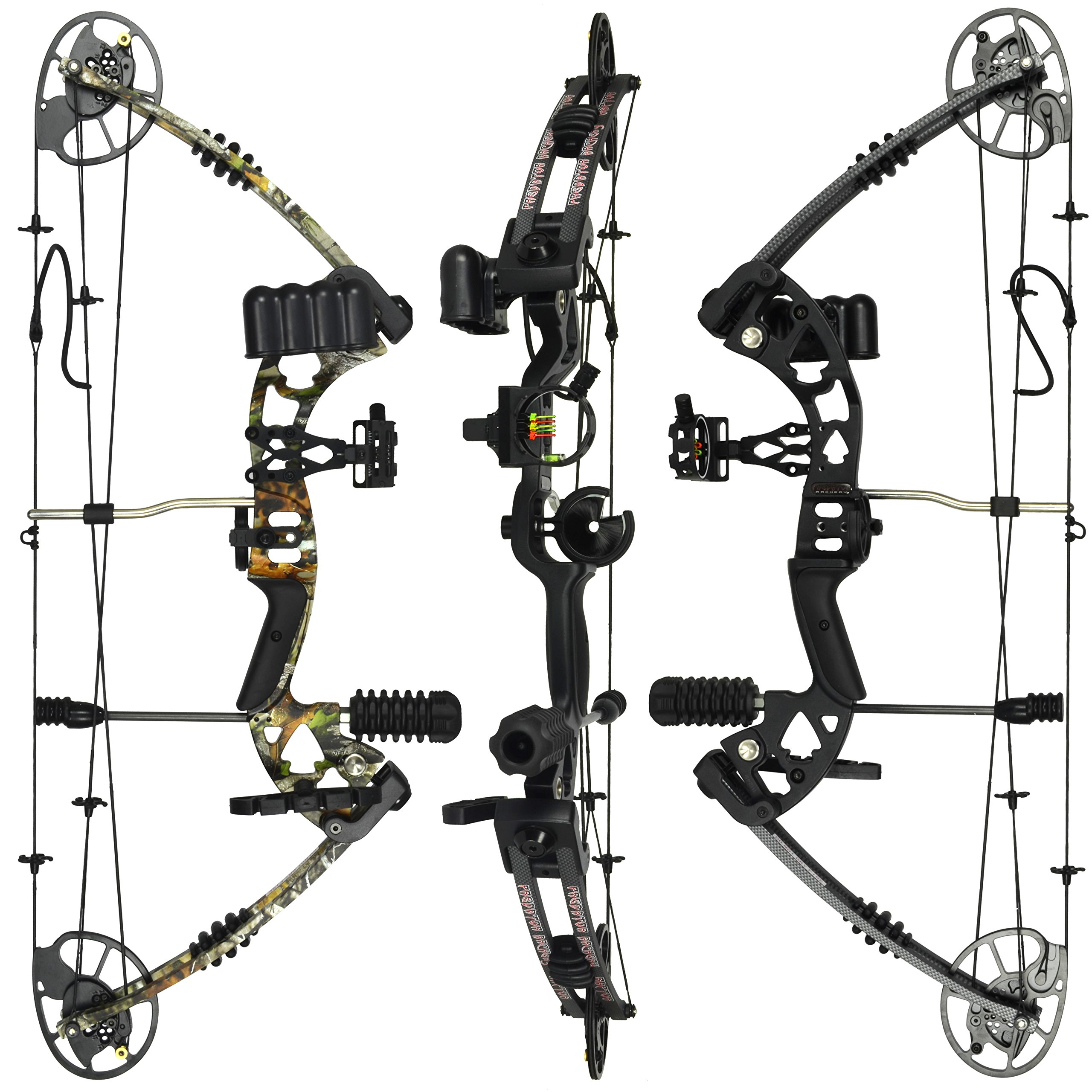 Best rated in archery compound bows helpful customer reviews raptor compound hunting bow kit limbs made in usa fully adjustable 245 31 solutioingenieria Choice Image