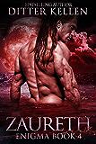 Zaureth: A SciFi Alien Romance (Enigma Series Book 4)