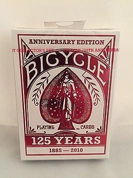 Cartas Bicicleta 125 aniversario edición naipes, Poker ...