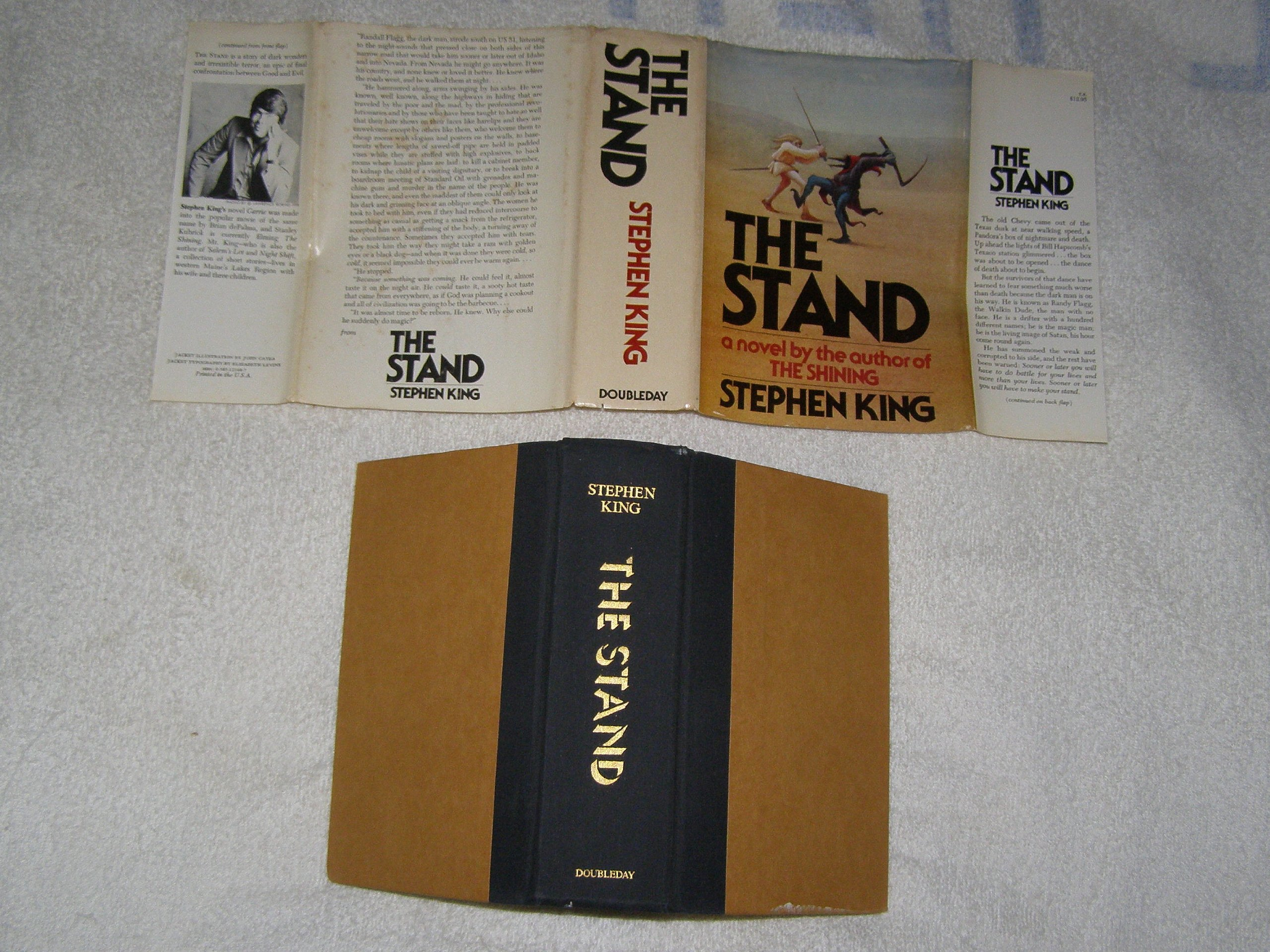 The Stand, 1st (1978) Edition Stated First Edition: Stephen King:  Amazon: Books