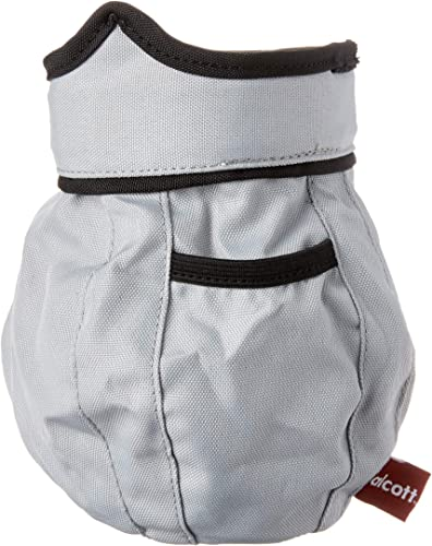 alcott Treat Ball Bag, Pet Owners, Grey with Black Accents