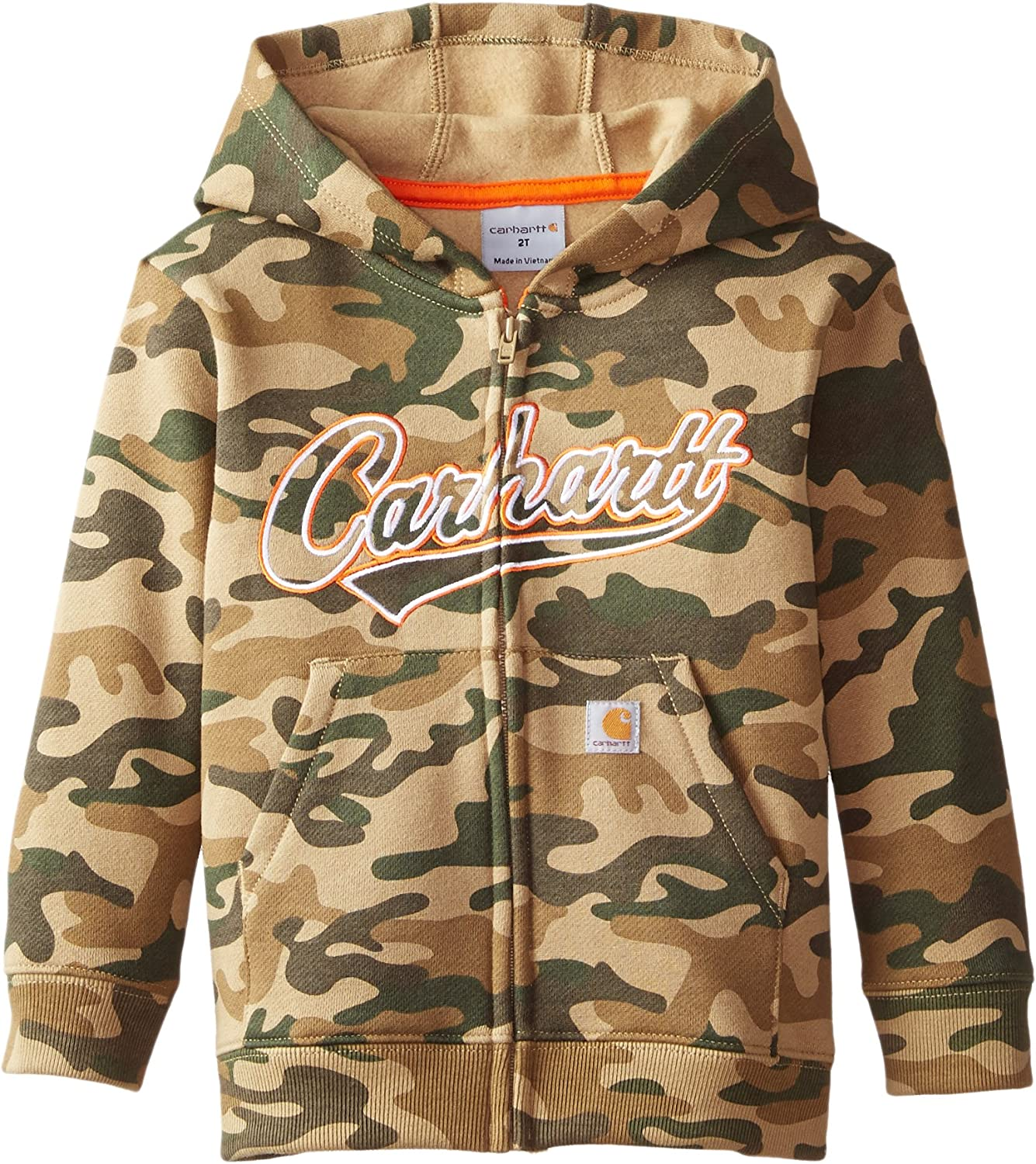 Carhartt Baby Boys Camo Lined Logo Fleece Sweatshirt