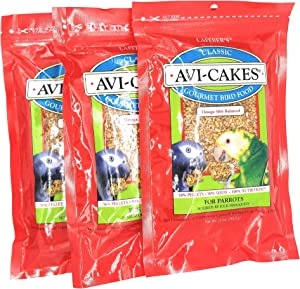 (3 Pack) Lafeber'S Classic Avi-Cakes For Parrots