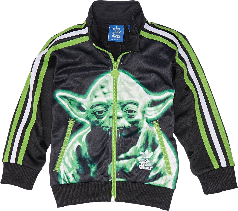 adidas Star Wars niños Firebird Negro Verde Negro: Amazon.es ...