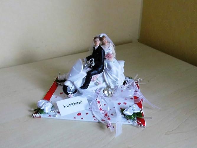 Geldgeschenk Hochzeit Brautpaar Motorrad Roller Amazon De Handmade