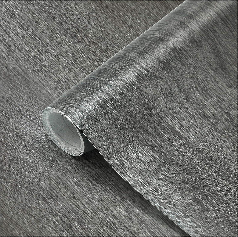 Papel Adhesivo Madera para Muebles 61x500cm, Espesar Duradero Vinilo Película Prueba de Aceite Impermeable Papel Pared para la Cocina Encimera Oficina, Type C: Amazon.es: Bricolaje y herramientas